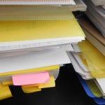 中学生の塾プリントの【整理方法】は?個別ファイル&スマホ&なんでも箱
