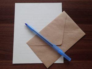 お歳暮のお礼状は【妻が代筆】で書いていい?上司に書く時は?部下にはなんて書いたら良いの?