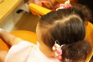 七五三で3歳の髪型は【おかっぱ】の場合は?髪飾り、ヘアアレンジはどうする?